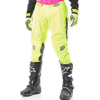Troy Lee Designs Fluorescent Yellow 2018 GP Air Mono MX Pant