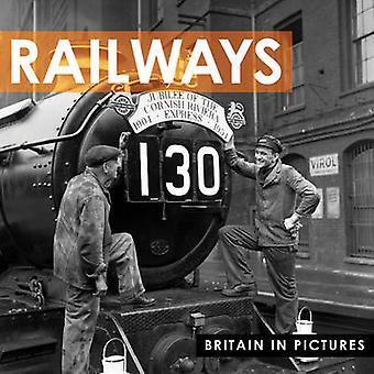 Spoorwegen door Press Association - Ltd. - 9781907708473 boek