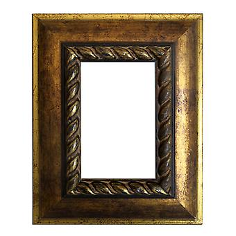 8x13 cm or 3 x 5 inch photo frame in gold