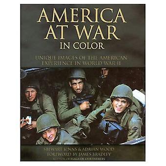 Amerika på kriget i färg: unika bilder av den amerikanska erfarenheten av andra världskriget