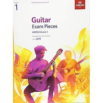 Gitarr-examen bitar från 2019, ABRSM grad 1