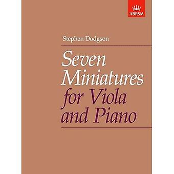 Seven Miniatures for Viola and Piano
