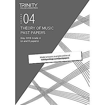 Trinity College London Theory of Music Past Papers (May 2018) Grade 4