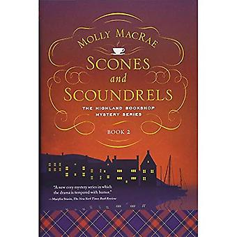 Scones and Scoundrels - The Highland Bookshop Mystery Series - Book 2