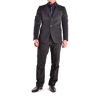 Costume National Grey Wool Suit