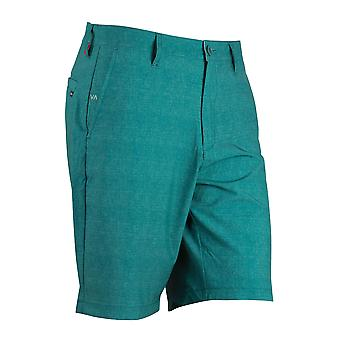 RVCA Mens VA Sport Benefits Hybrid Shorts - Aqua Blue - surf skate swim