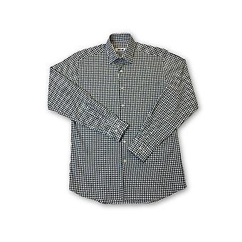 Ingram shirt in green and white check pattern