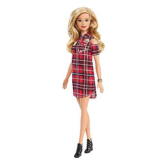 Barbie GBK09 Fashionistas Doll, Patched Played Blonde