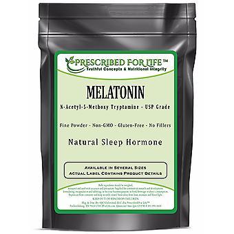 Melatonin - N-Acetyl-5-Methoxy Tryptamine Powder - Natural Sleep Hormone