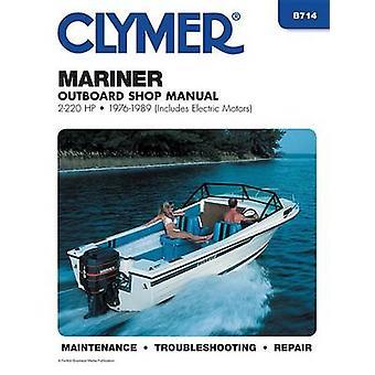 Mariner 2-220 H. P.Outboard - 1976-1989 - Clymer Workshop Manual (2nd)