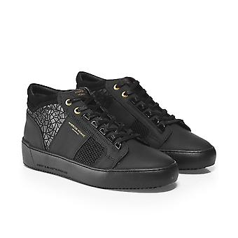 Android Homme Rubber Mosaic Mesh Propulsion Mid Geo Trainers