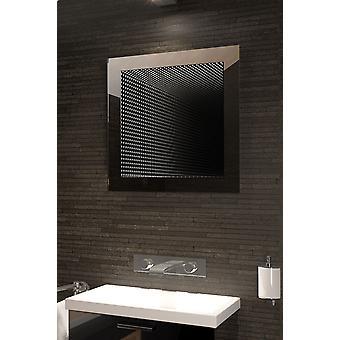 Perfecto reflejo Rgb LED baño infinito espejo K214Rgb