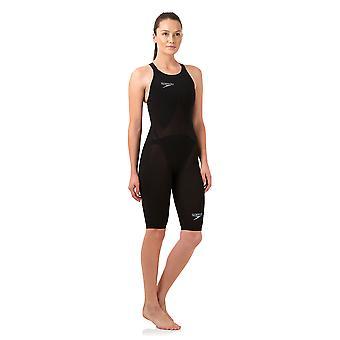 Speedo Women es Fastskin Lzr Racer Elite 2 Open Back Kneeskin Competition Swimwear