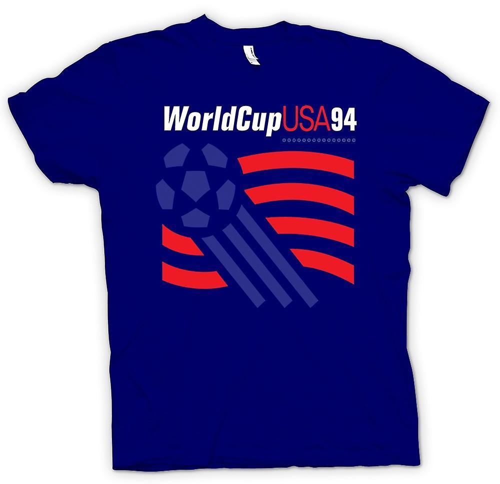 femmes t shirt coupe du monde usa 94 football football. Black Bedroom Furniture Sets. Home Design Ideas