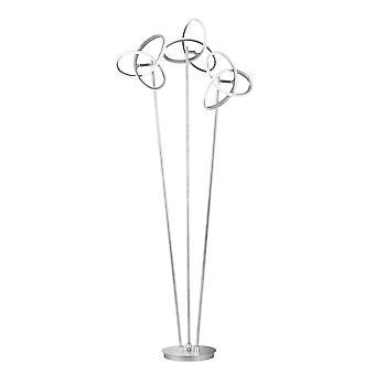 Wofi Eliot - LAMPE de plancher leD Argent - 3410.03.70.8000