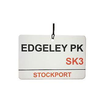 Stockport / Edgeley Pk muestra de calle Ambientador para el coche