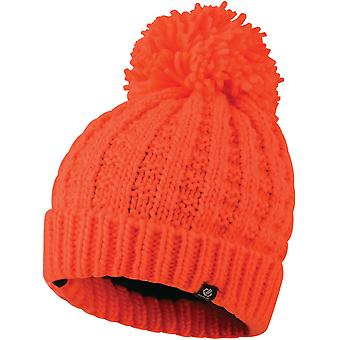 Dare 2b Womens Convoke Fleece Lined Bobble Winter Beanie Hat