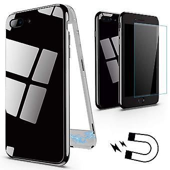 Magnetgehäuse mit Buntglas für iPhone 6/6S-Black