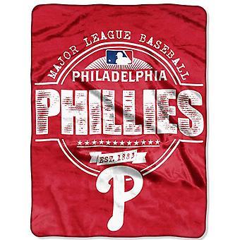 Northwest MLB Philadelphia Phillies micro pluche deken 150x11