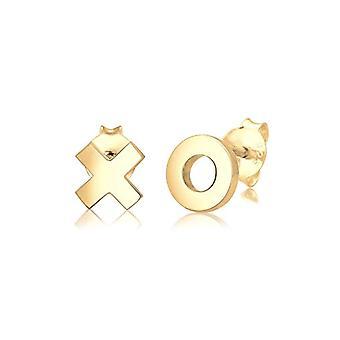 Elli Silver Women's Pin Earrings 311532117