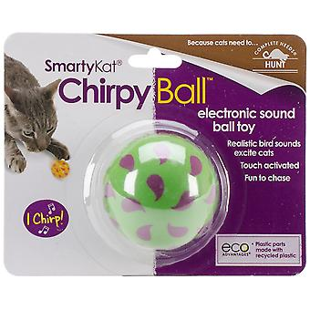 SmartyKat ChirpyBall Electronic Sound Toy- 9367