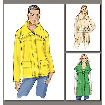Misses' Jacket And Belt  E5 14  16  18  20  22 Pattern V8794  E50