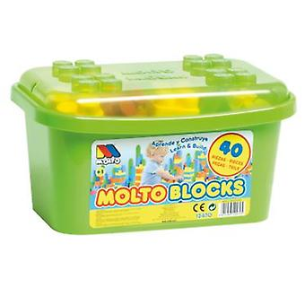 Molto block box , 40 pieces