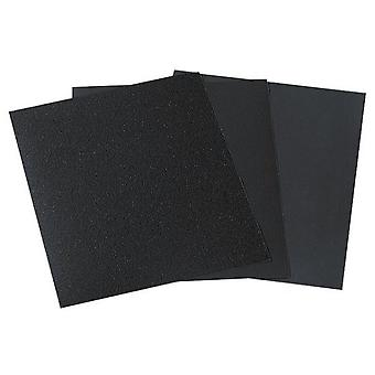 Wolfcraft Pliego dry paper / water sandpaper, 600 grit