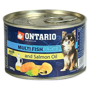 Ontario Mini Multi Fish and Salmon oil (Hunde , Hundefutter , Nassfutter)