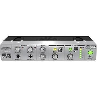 2 canales Behringer MIX800