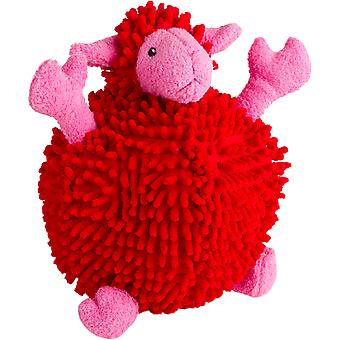 Trusty Pup Fuzzy Wuzzy Sheep-Red Large 774058