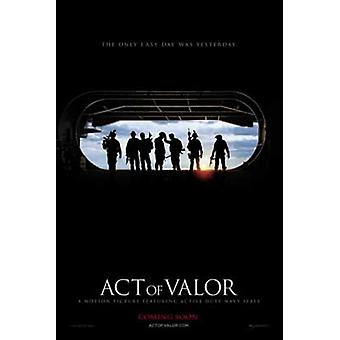 Act of Valor Movie Poster (11 x 17)