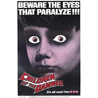 Kinderen van de verdoemden filmposter (11 x 17)