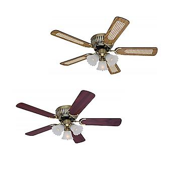 Ceiling fan Kisa Brass antique 105 cm / 41