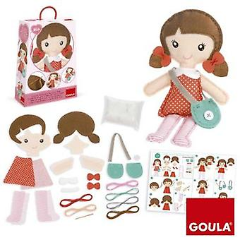 Goula Mia Doll Do It Yourself (Toys , Educative And Creative , Design And Mode , Mode)