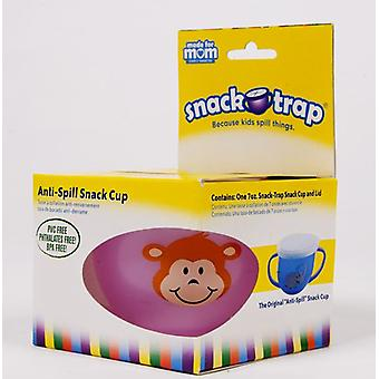 Snack-Trap-Anti-Spill Snack Cup Rosa