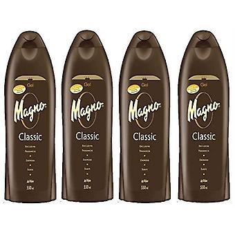 Magno Shower Gel 550ml (4 Pack)