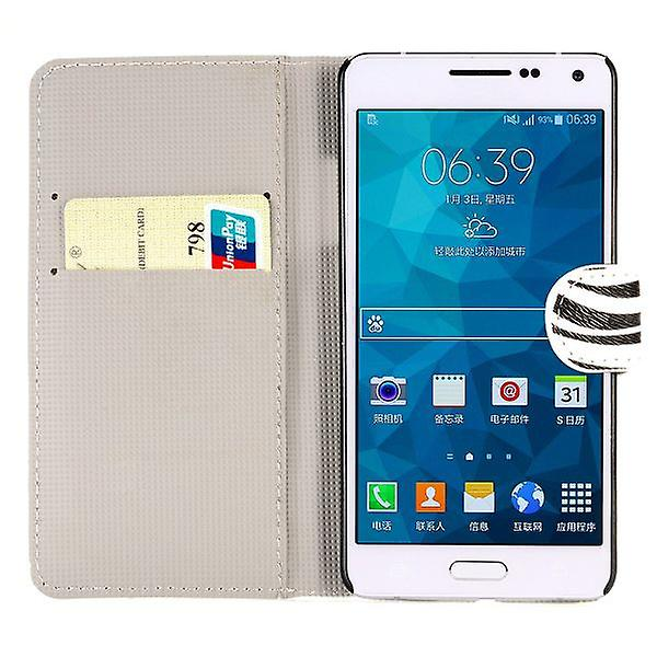 Pocket wallet motif 10 for Samsung Galaxy A5 A500 A500F