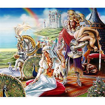 Camelot Poster trykk av Adrian Chesterman