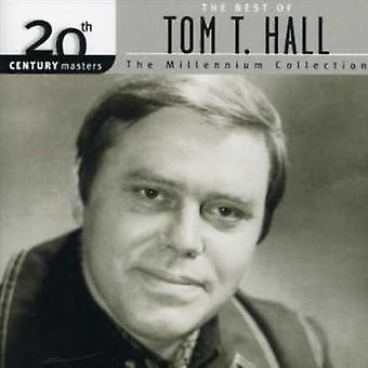 Tom T. Hall - Millennium samling-20th århundrede skibsførere [CD] USA import