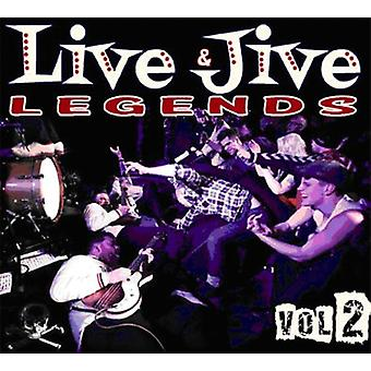 Live & Jive legender - Vol. 2-Live & Jive legender [CD] USA import