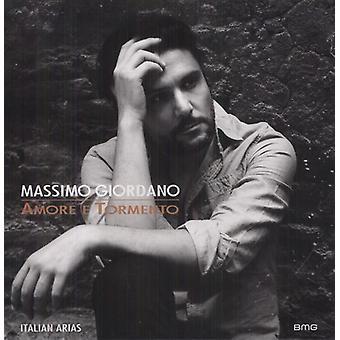 Giordano/Puccini/Verdi - Amore E Tormento: Italienske arier [CD] USA import