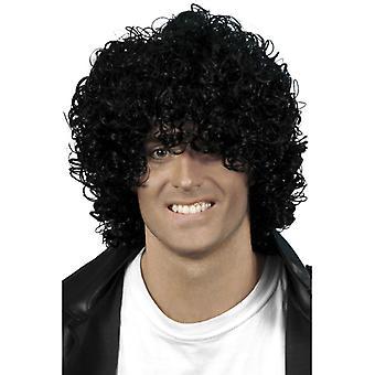 Wetlook Afro wig, black