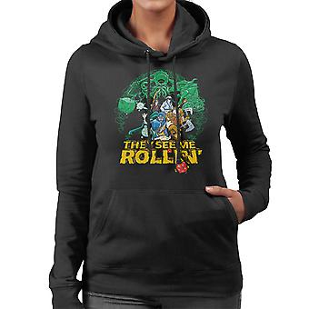 They See Me Rollin Dungeons And Dragons Women's Hooded Sweatshirt