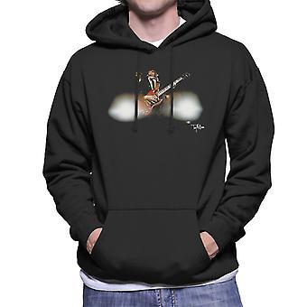 Angus Young Guitar ACDC 1988 Men's Hooded Sweatshirt