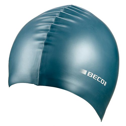 BECO Metallic Silicone Swimming Cap