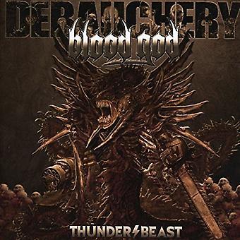 Udskejelser vs blod Gud - Thunderbeast [CD] USA importerer