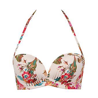 Gossard Bird of Paradise Floral Strapless Bikini Top 8878