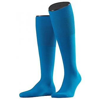 Falke Airport Knee High chaussettes - Turquoise