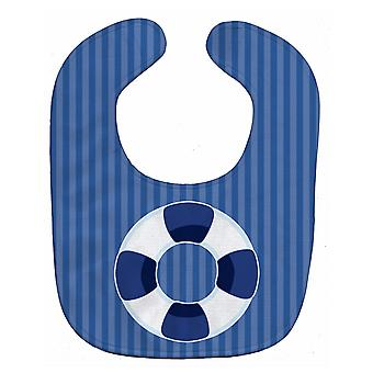 Carolines Treasures  BB8887BIB Nautical Life Preserver Baby Bib